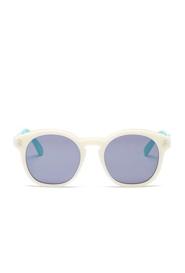 Ochelari Femei Stella McCartney Womens Round Sunglasses CREAM WHITE