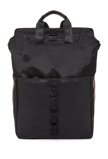 Genti Barbati FOCUSED SPACE The Framework Convertible Backpack BLACK