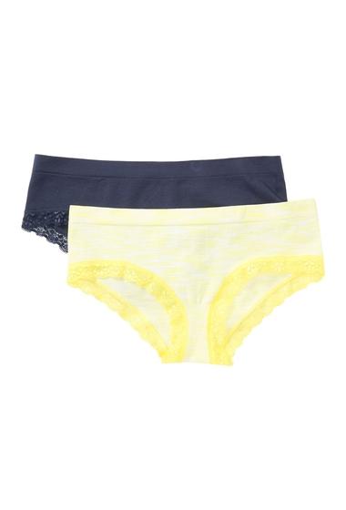 Imbracaminte Femei Free Press Lace Seamless Cheeky Bikini - Pack of 2 YELLW MRINGU SPCDYENVY INDIGO