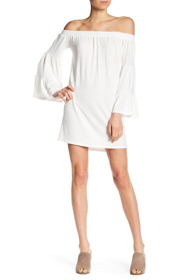 Imbracaminte Femei Go Couture Off-the-Shoulder Shift Minidress IVORY