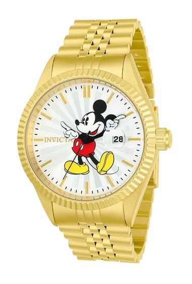 Ceasuri Barbati Invicta Watches Mens Disney Limited Edition Bracelet Watch 43mm GOLD