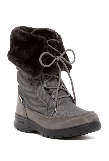 Incaltaminte Femei Kamik Seattle 2 Faux Fur Waterproof Boot CHARCOAL