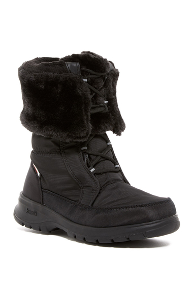 Incaltaminte Femei Kamik Seattle 2 Faux Fur Waterproof Boot BLACK