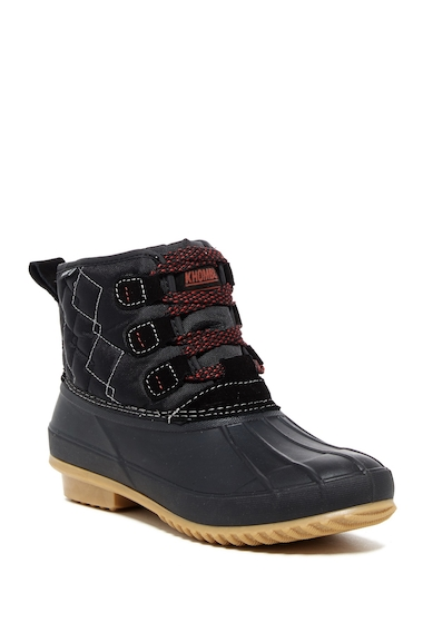 Incaltaminte Femei Khombu Crest Waterproof Boot BLACK