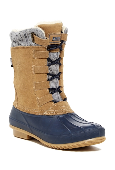 Incaltaminte Femei Khombu Comet Faux Fur Lined Boot TAN