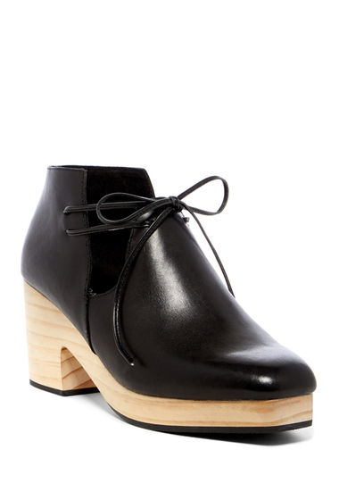 Incaltaminte Femei Kelsi Dagger Brooklyn North Lace-Up Heel BLACK