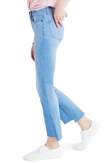 Imbracaminte Femei Madewell Cali Demi-Boot Jeans Step-Hem Edition Kingwood KINGWOOD WASH