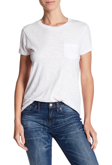 Imbracaminte Femei Madewell Crew Neck Tee OPTIC WHITE