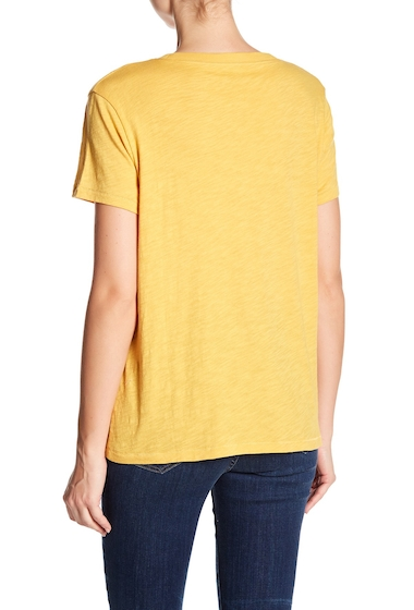Imbracaminte Femei Madewell Crew Neck Tee GOLDEN APPLE