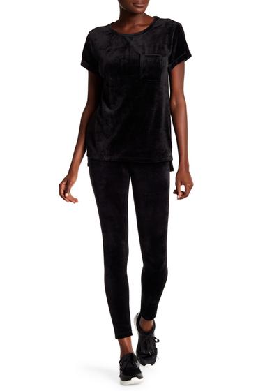 Imbracaminte Femei Marc New York Velvet Leggings BLACK