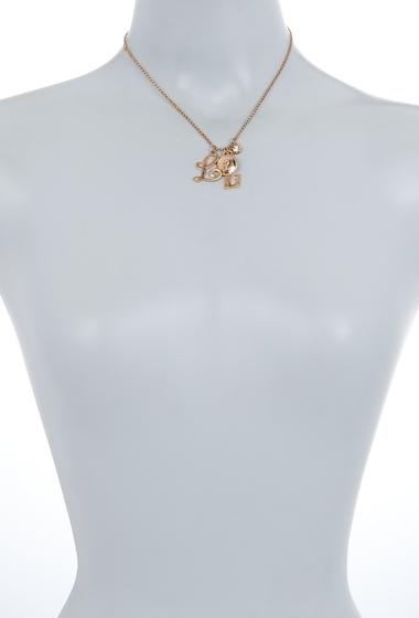 Bijuterii Femei Melrose and Market Initial Charm Pendant Necklace L-GOLD