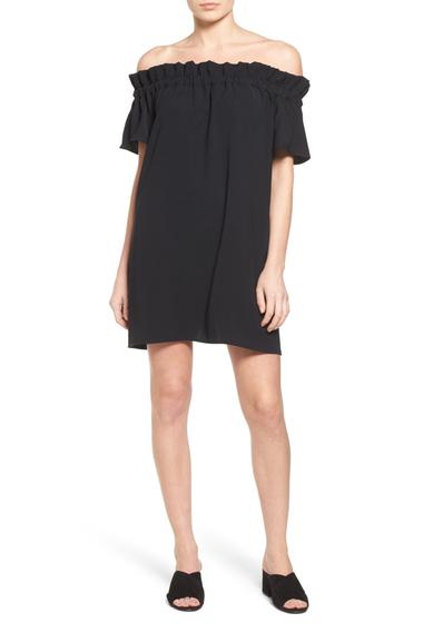 Imbracaminte Femei Pleione Off-the-Shoulder Dress BLACK