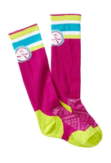 Accesorii Femei Smartwool Berry Girl On The Run Socks BERRY