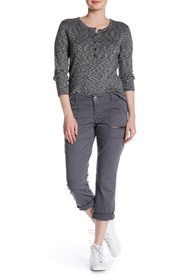 Imbracaminte Femei SUPPLIES BY UNION BAY Norma Zip Cargo Crop Pants LT GALAXY
