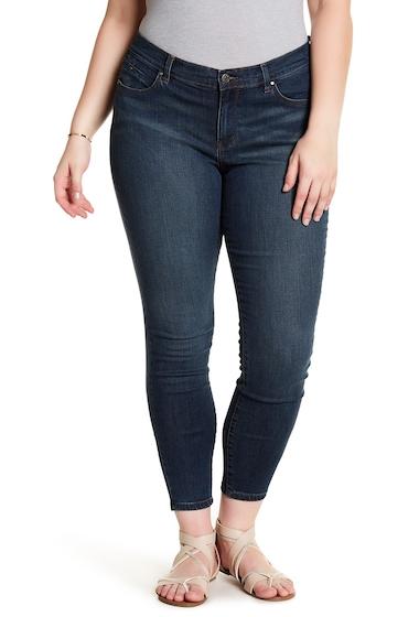 Imbracaminte Femei SUSINA Skinny Jeans Plus Size DARK WASH