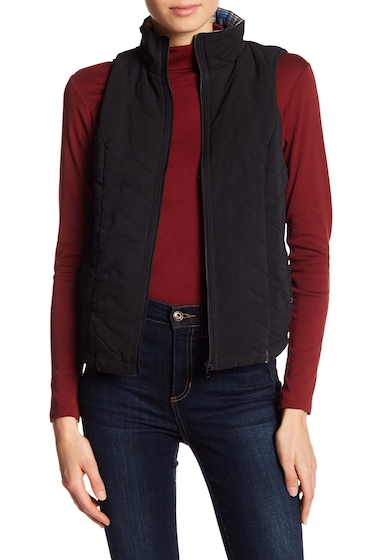 Imbracaminte Femei SUPPLIES BY UNION BAY Joanna Quilted Vest BLACK