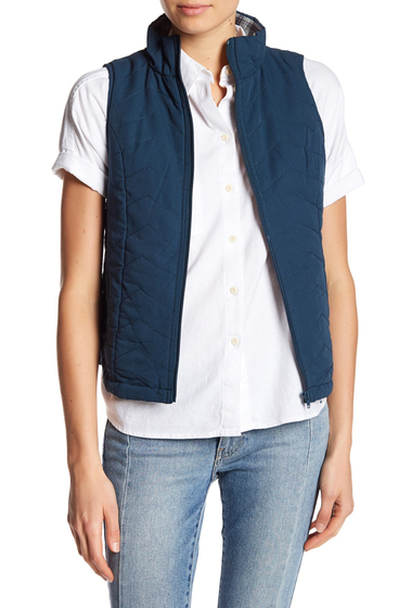 Imbracaminte Femei SUPPLIES BY UNION BAY Joanna Quilted Vest GULF STREA