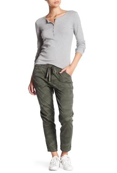 Imbracaminte Femei SUPPLIES BY UNION BAY Cynthia Elastic Waist Camo Utility Pants GREENBELT