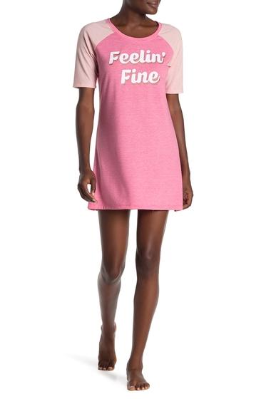 Imbracaminte Femei Tart Reggie Raglan Graphic Sleep Shirt FEELIN FIN