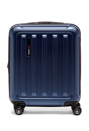 Genti Femei Travelers Choice Smart USB Port 20 Expandable Spinner Case NAVY