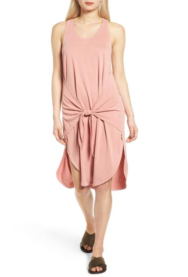 Imbracaminte Femei Trouve Tie Front Knit Dress PINK DESERT