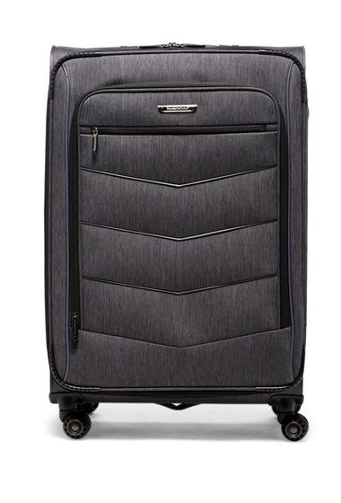 Genti Femei Travelers Choice Silverwood 30 Softside Spinner Case BRUSH CHARCOAL
