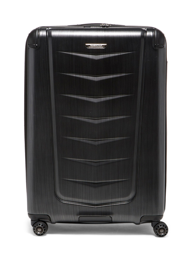 Genti Femei Travelers Choice Silverwood 30 Hardside Spinner Case BRUSH CHARCOAL