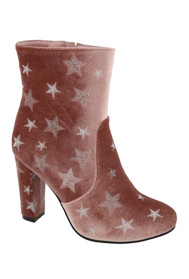 Incaltaminte Femei Top Moda Damia Star High Heel Bootie BLUSH