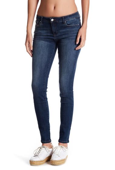 Imbracaminte Femei Tractr Jeans Mid Rise Skinny Jeans INDIGO
