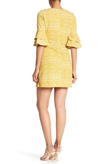 Imbracaminte Femei Vanity Room V-Neck Ruffle Sleeve Dress MRIGLD GEO