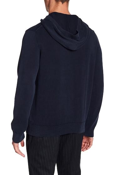 Imbracaminte Barbati Vince Long Sleeve Knit Hoodie COASTAL BL