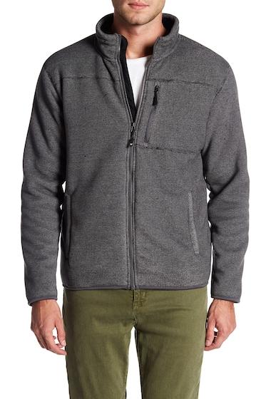 Imbracaminte Barbati Weatherproof Stripe Fleece Jacket SHADE GREY COMBO