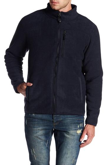 Imbracaminte Barbati Weatherproof Stripe Fleece Jacket NAVY COMBO
