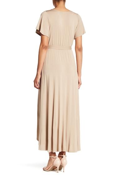Imbracaminte Femei WEST KEI Hi-Lo Knit Wrap Dress COCO