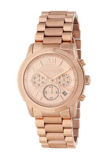 Ceasuri Femei MICHAEL Michael Kors Womens Cooper Bracelet Watch 39mm ROSE GOLD