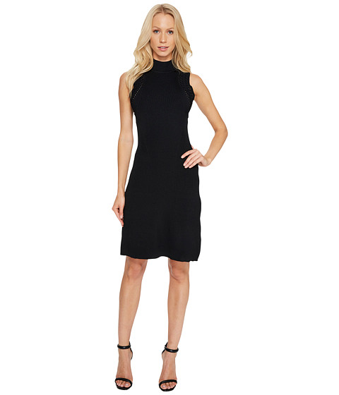 Imbracaminte Femei Laundry by Shelli Segal A-Line Dress with Cut Out Back Detail Black