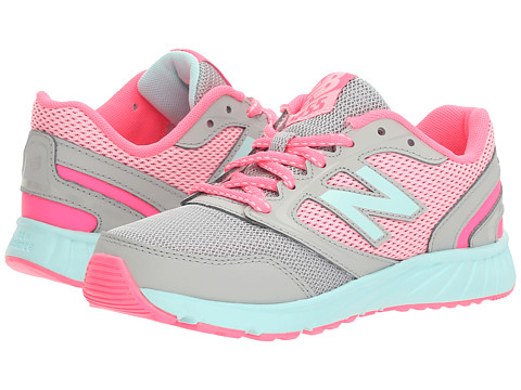 Incaltaminte Fete New Balance KR455v1 (Little KidBig Kid) GreyPink