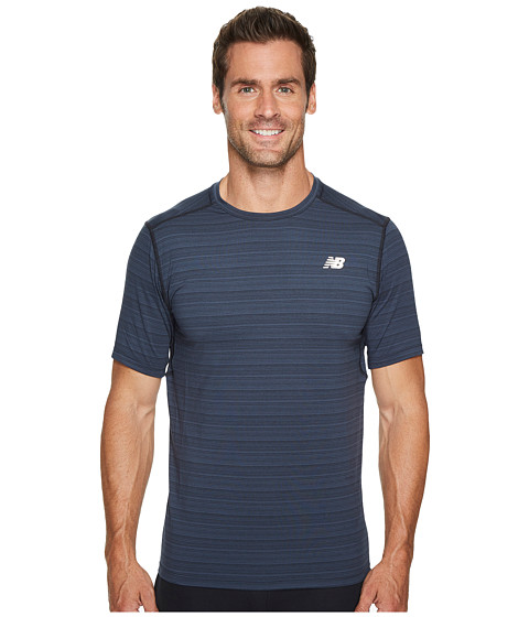 Imbracaminte Barbati New Balance Fantom Force Short Sleeve Top Black