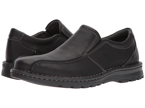 Incaltaminte Barbati Clarks Vanek Step Black Oily Leather