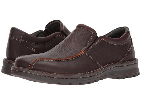 Incaltaminte Barbati Clarks Vanek Step Brown Oily Leather