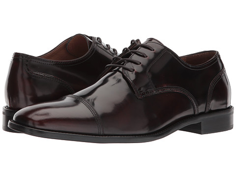 Incaltaminte Barbati Johnston Murphy Knowland Cap Toe Burgundy