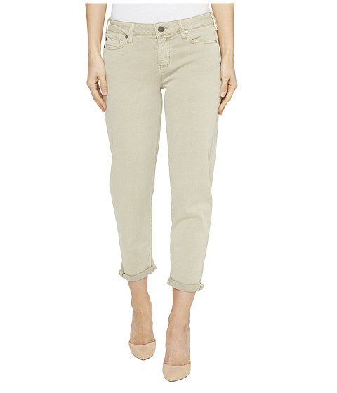 Imbracaminte Femei Liverpool Riley Relaxed Crop in Stretch Peached Twill in Pure Cashmere Pure Cashmere