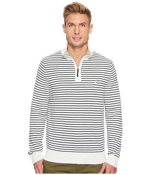 Imbracaminte Barbati Nautica 12 Gauge Striped 14 Zip Marshmallow