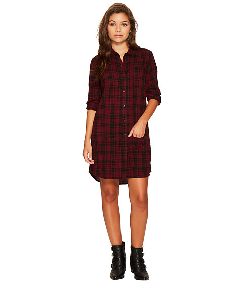 Imbracaminte Femei Obey Fairuza Shirtdress Cranberry Multi