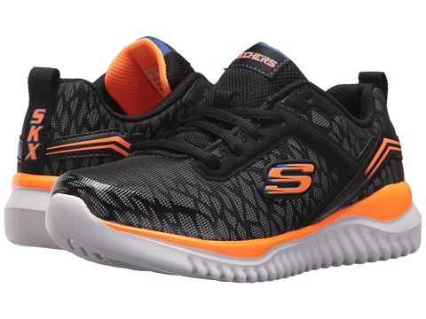 Incaltaminte Baieti SKECHERS Turboshift (Little KidBig Kid) BlackOrange 1