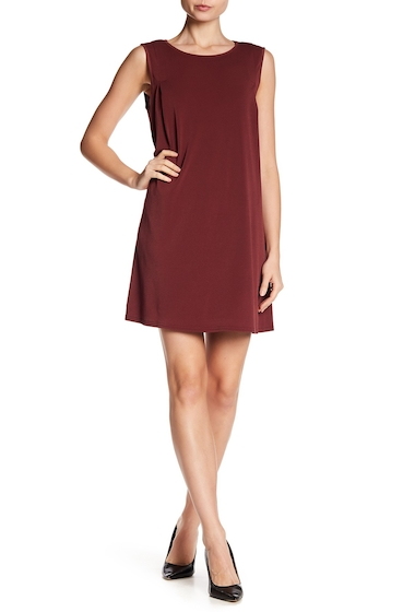 Imbracaminte Femei BCBGeneration Pleated Shift Dress MAHOGANY