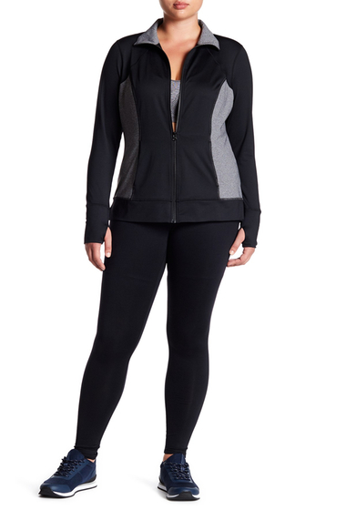 Imbracaminte Femei Z By Zella Work For It Leggings Plus Size BLACK