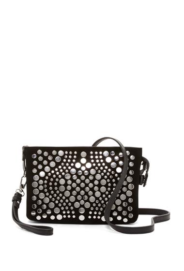 Genti Femei Vince Camuto Bonny Small Leather Crossbody Bag NERO 01