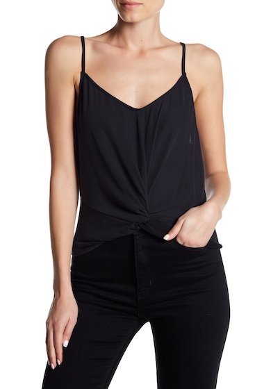 Imbracaminte Femei Lush Cupro Knot Cami BLACK