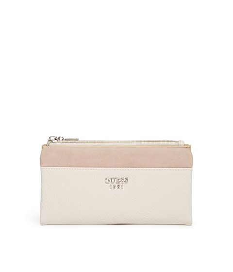 Accesorii Femei GUESS Allston Color-Block Foldover Wallet stone multi